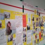 Exposition à la maternelle Pasteur (Garches)