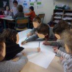 Devenir auteurs et illustrateurs. Ecrire un livre à l'école de Pierrefiche d'Olt.