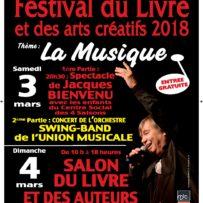 Festival du livre d'Onet le Château sous le thème de la musique